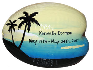 painted coconuts make unique gifts for any occasion