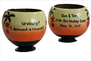 personalized Parrothead birthday gift ideas