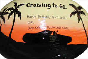 personalized 60th birthday gift idea