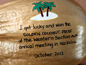 The Golden Coconut groundbreaking award