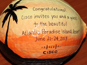 ecofriendly corporate sales coconut advertising specialty gift