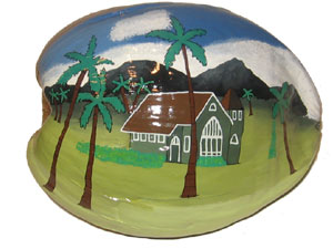 Hand Painted nut