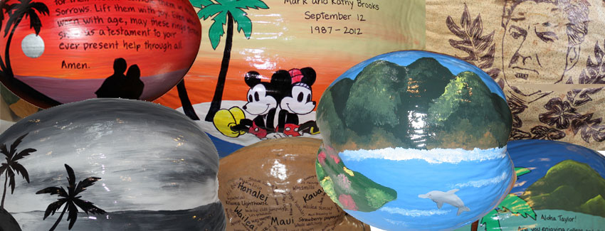 Fine art coconuts