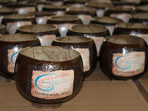 Logoed coconuts