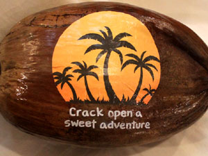 Coconut sales promotion