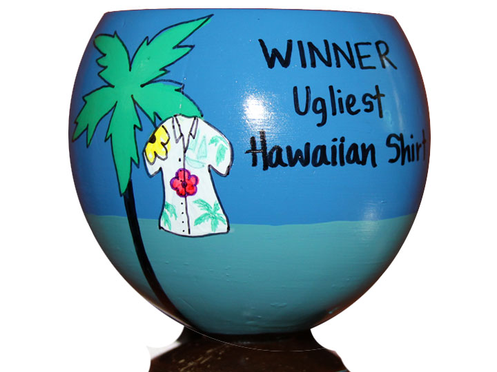Tackiest Tourist Award Hawaiian Luau Party