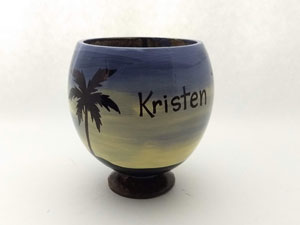 Personzalized Coconut Cup