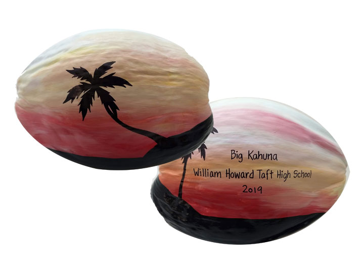 Buy Painted Coconuts For Unique Invitations And Unusual Gifts