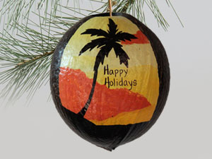 Personalized holiday ornament on sale
