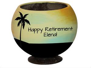 retirement trophy