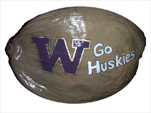 Washington Huskies One of a kind sports memorabilia