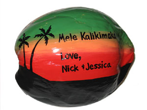 Mele Kalikimaka means Merry Christmas in Hawaiian