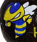 Hand painted school mascot
