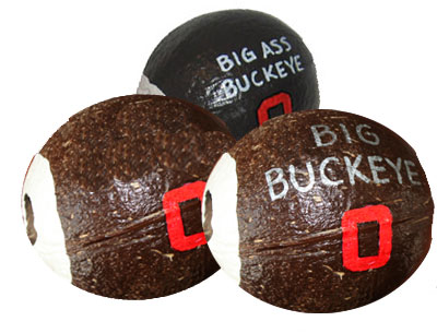 Go Buckeyes Hollow Coconut Gifts