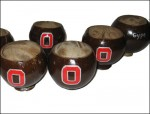 Buckeye Painted Coconut Cup - Product Image