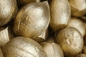 Golden or Silver Coconuts - Product Image